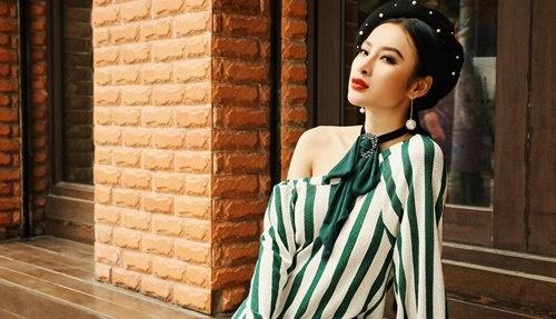 Angela Phuong Trinh xuong pho sanh dieu sau khi hoan thanh phim 'Glee' hinh anh