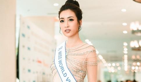 Hoa hau Do My Linh rang ro truoc ngay len duong thi Miss World 2017 hinh anh