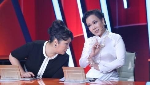 Viet Huong bat khoc khi thi sinh ngan can dong vai nguoi thieu nang hinh anh