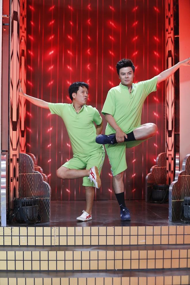 Tran Thanh than thiet voi tinh cu Mai Ho o game show hinh anh 7