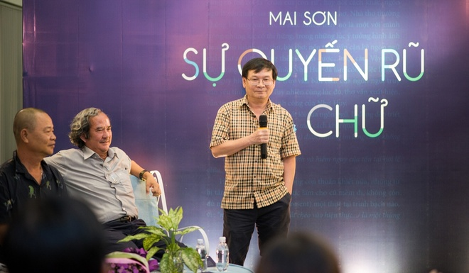 Nha van Mai Son ra mat sach 'Su quyen ru cua chu' hinh anh 2