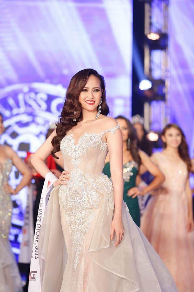 Khanh Ngan dang quang Miss Globe 2017 hinh anh 1