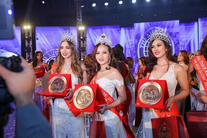 Khanh Ngan dang quang Miss Globe 2017 hinh anh 3