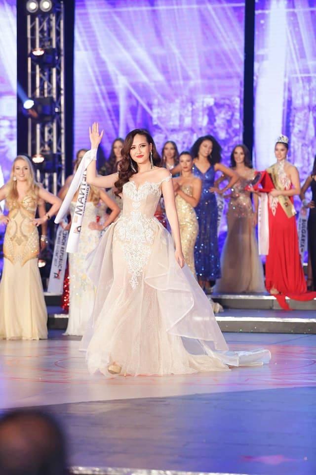 Khanh Ngan dang quang Miss Globe 2017 hinh anh 4