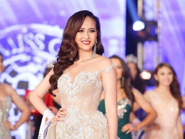 Khanh Ngan dang quang Miss Globe 2017 hinh anh