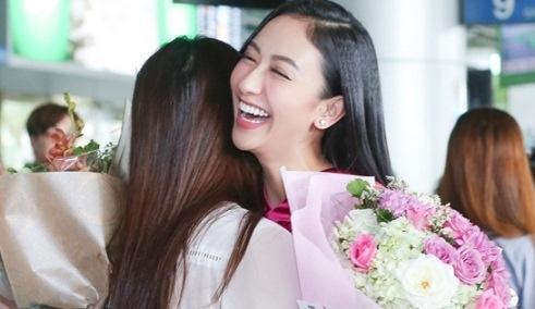 Ha Thu rang ro tro ve nuoc du truot top 8 Hoa hau Trai dat 2017 hinh anh