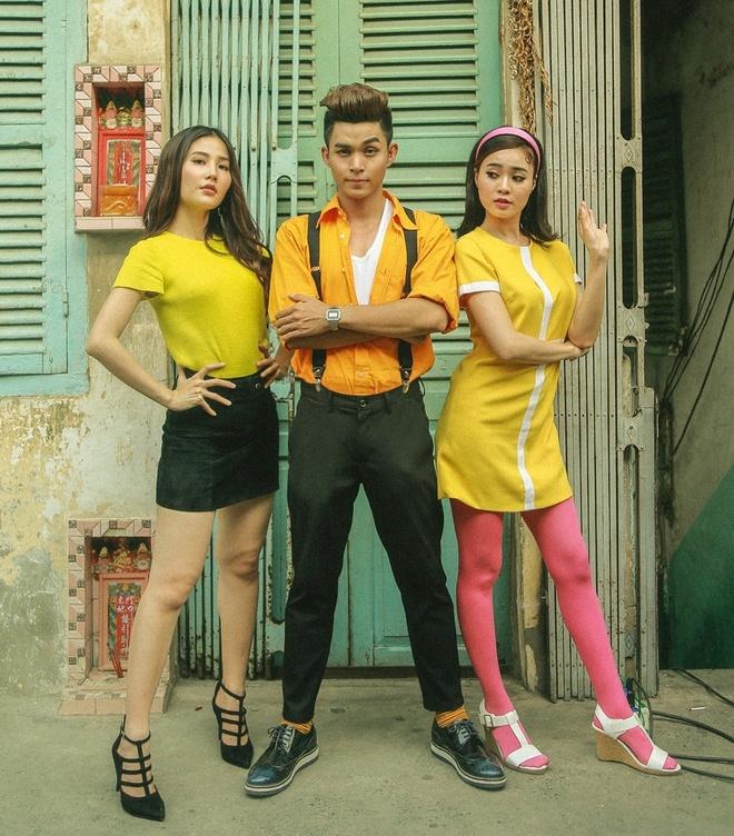 Jun Pham phan no voi Diem My 9X trong MV anh 1