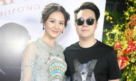 Ban trai cu Le Hieu den chuc mung Van Mai Huong ra mat MV moi hinh anh