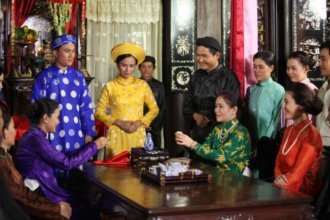 Kieu Trinh lan dau dua con trai 6 tuoi di dong phim hinh anh 3