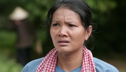 Kieu Trinh lan dau dua con trai 6 tuoi di dong phim hinh anh