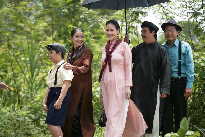 Kieu Trinh lan dau dua con trai 6 tuoi di dong phim hinh anh 2