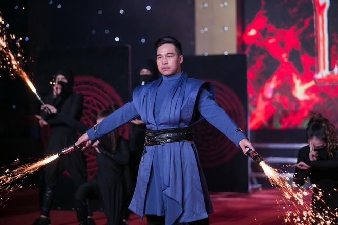 Ảo thuật Ricky Nguyễn giành giải 3. Ảnh: Khang.