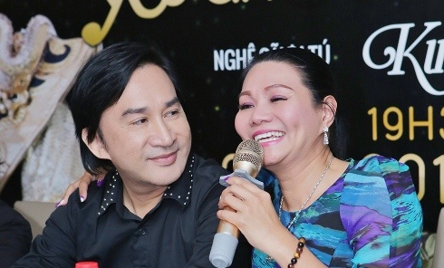 Vo Kim Tu Long: 'Anh ay om Ngoc Huyen nhieu thi toi cang mung' hinh anh