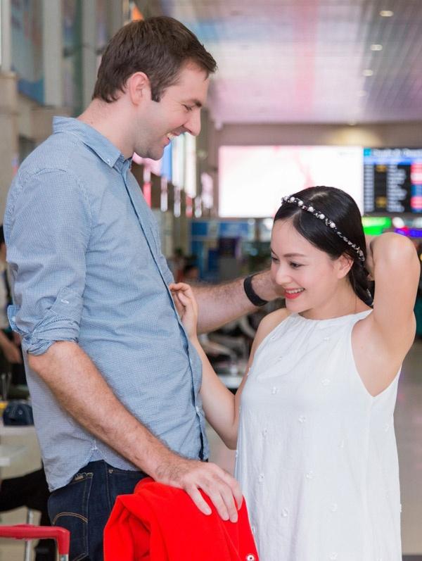 Lan Phuong dinh hon voi ban trai Tay cao hon 2 m sau 4 thang quen nhau hinh anh 1