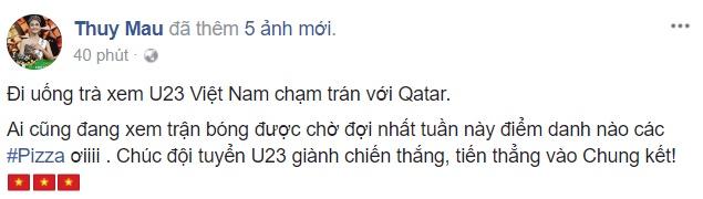 Huong Tram, Nhan Phuc Vinh: U23 Viet Nam se lap ky tich truoc Qatar hinh anh 9