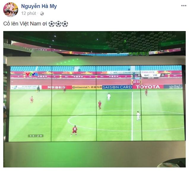 Huong Tram, Nhan Phuc Vinh: U23 Viet Nam se lap ky tich truoc Qatar hinh anh 10