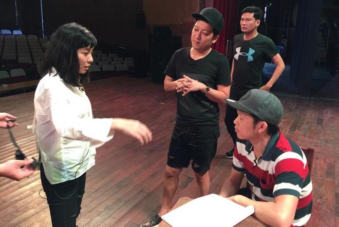 Hoai Linh tat bat tap kich Tet cung Truong Giang, Cat Phuong hinh anh 2