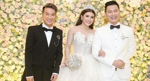 Dam Vinh Hung, Hari Won du le cuoi cua To Ny o Sai Gon hinh anh