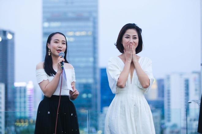 Thu Thuy, Cuong Seven chuc mung MC Lieu Ha Trinh ra tap tho moi hinh anh 6