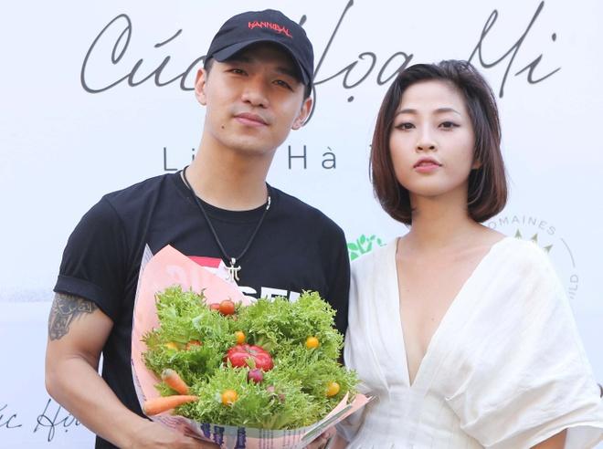 Thu Thuy, Cuong Seven chuc mung MC Lieu Ha Trinh ra tap tho moi hinh anh 3