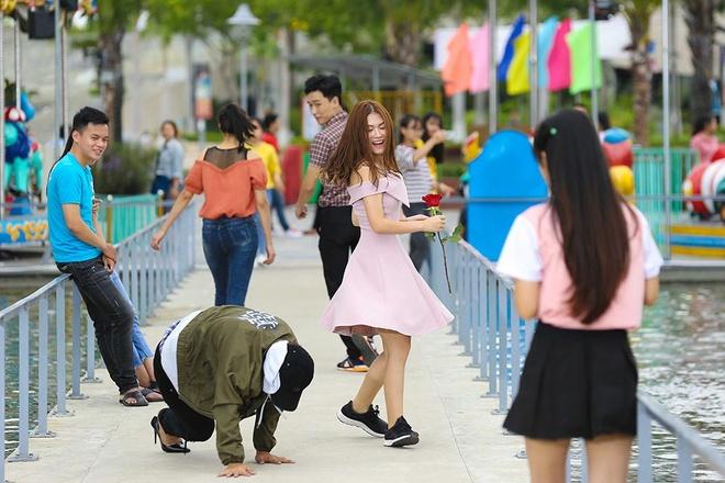 Hoai Lam kho so dong Yeu em bat chap anh 5