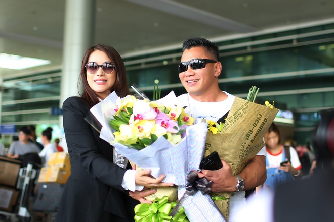 Cung Le ve nuoc dong phim voi Truong Ngoc Anh anh 1