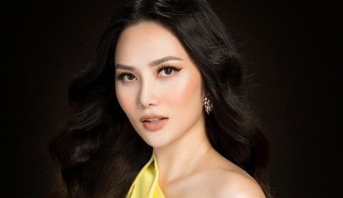 Dieu Linh du thi Nu hoang Du lich quoc te 2018 o Thai Lan hinh anh