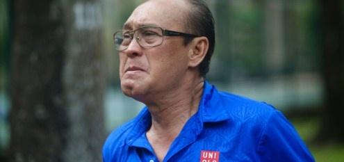 Duy Phuong buc xuc den Toa an lam viec ve vu kien Sau anh hao quang hinh anh
