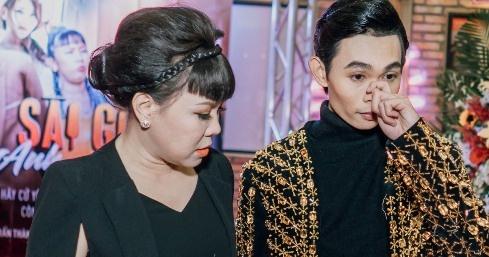 Viet Huong bi che 'ngu' khi giup quan quan Cuoi xuyen Viet lam phim hinh anh