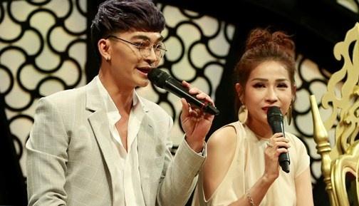 Khuong Ngoc va tinh cu Kha Nhu tai hop tren ghe nong Nhac hoi song ca hinh anh