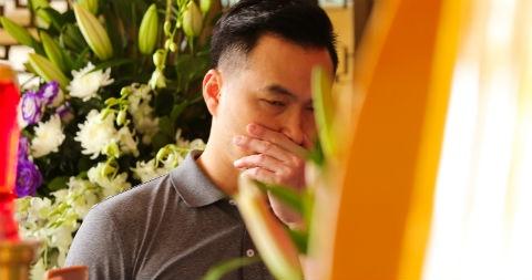 Chi Bao, Thanh Loc nghen ngao den tien biet NSUT Thanh Hoang hinh anh
