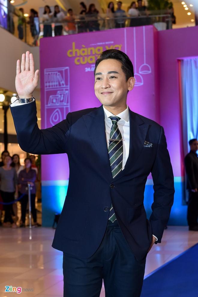 Johnny Tri Nguyen du ra mat phim Chang vo cua em anh 9