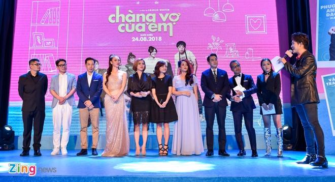 Johnny Tri Nguyen du ra mat phim Chang vo cua em anh 1