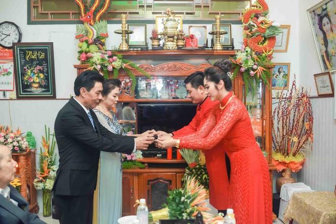 Hoang Map, MC Anh Quan du le dinh hon cua HH Dai duong Dang Thu Thao hinh anh 8
