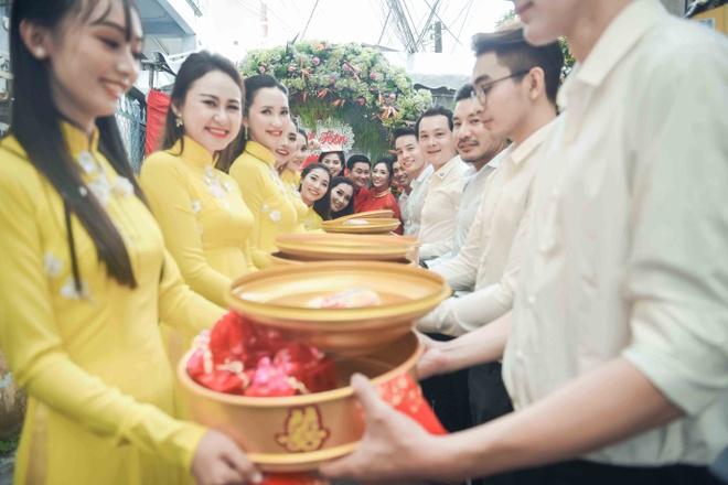 Hoang Map, MC Anh Quan du le dinh hon cua HH Dai duong Dang Thu Thao hinh anh 5