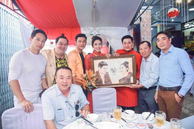 Hoang Map, MC Anh Quan du le dinh hon cua HH Dai duong Dang Thu Thao hinh anh 9