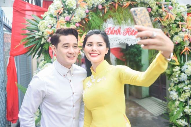 Hoang Map, MC Anh Quan du le dinh hon cua HH Dai duong Dang Thu Thao hinh anh 11