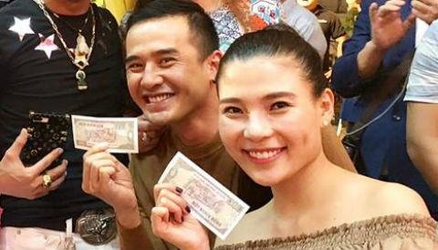 Luong The Thanh, Thuy Diem va dan sao du le gio To som o Sai Gon hinh anh