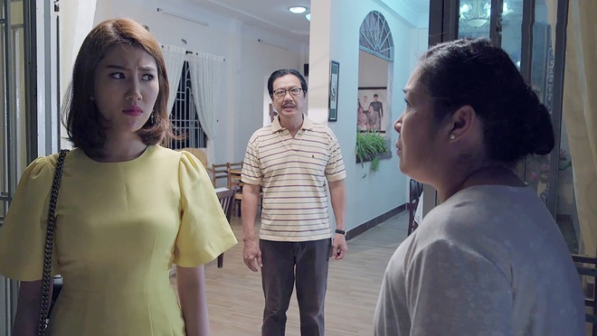 'Gao nep gao te' tap 71: Cong bat khoc nuc no sau khi ly hon Huong hinh anh 3