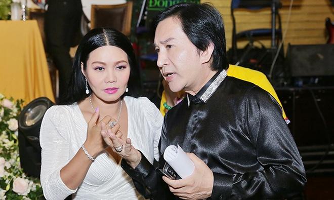 Kim Tu Long: 'Dau dau khi Ngoc Huyen muon Hoai Linh dien trong show' hinh anh
