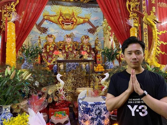 Tran Thanh du sinh nhat Hoai Linh anh 2