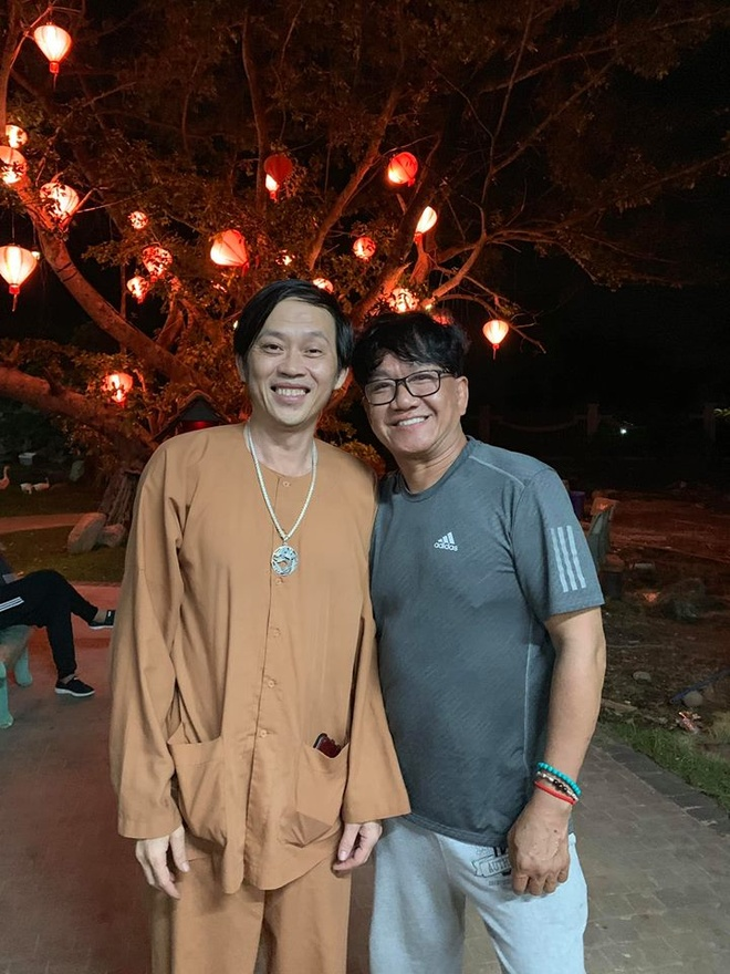 Tran Thanh du sinh nhat Hoai Linh anh 5