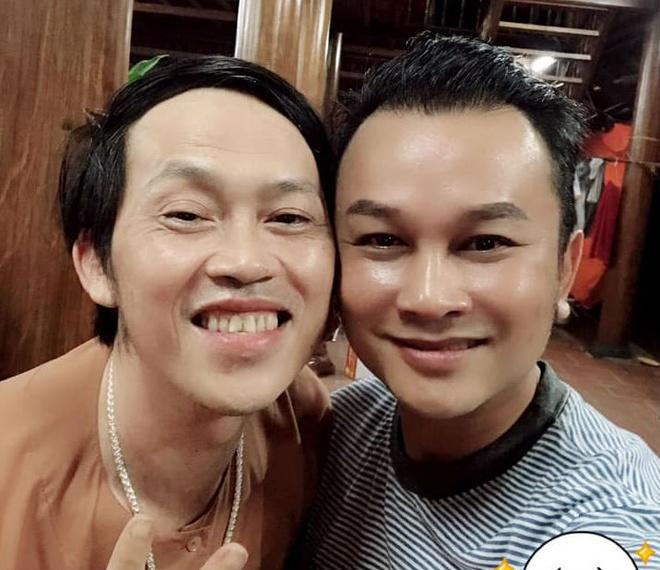 Tran Thanh du sinh nhat Hoai Linh anh 4