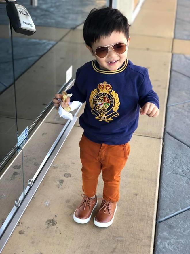 Con trai 2 tuoi cua Dan Truong - rich kid sinh ra trong boc dieu hinh anh 9