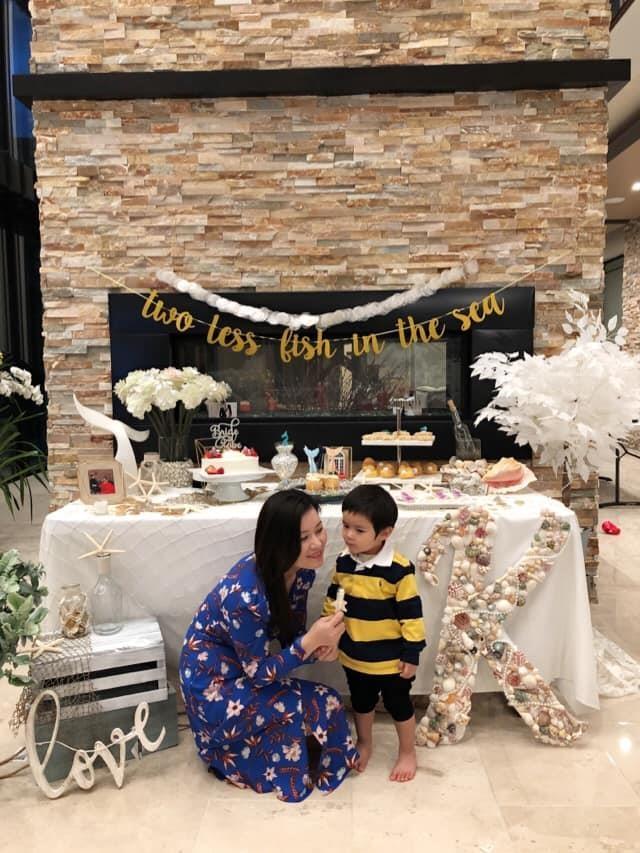 Con trai 2 tuoi cua Dan Truong - rich kid sinh ra trong boc dieu hinh anh 5