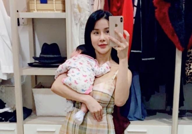 Diep Lam Anh mang bau chi sau 5 thang sinh con gai dau long hinh anh 1