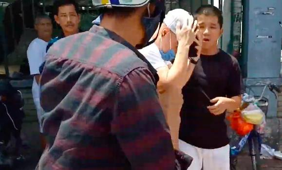Le Duong Bao Lam bi danh giua pho? hinh anh 2