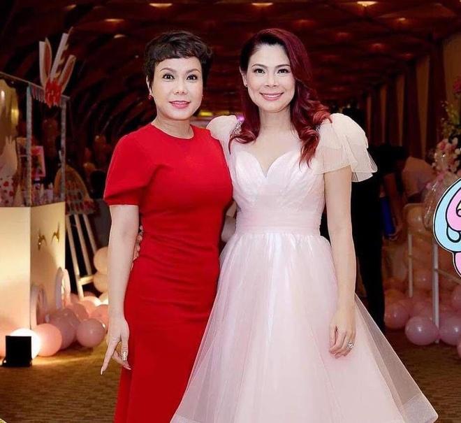 Viet Huong, Hien Mai du sinh nhat con gai Thanh Thao o Viet Nam hinh anh 5