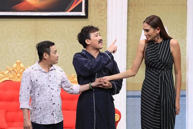 Sieu mau Vo Hoang Yen 'de doa' Tran Thanh o On gioi hinh anh 1