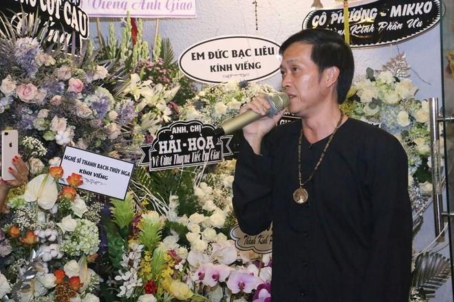 Hoai Linh va nhieu sao Viet ve Can Tho vieng nghe nhan Thanh Giao hinh anh 2